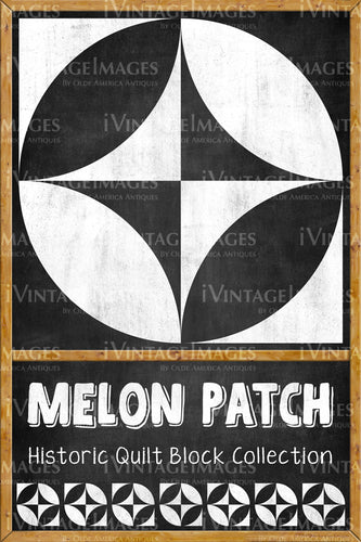 Melon Patch Quilt Block Design by Susan Davis - 11