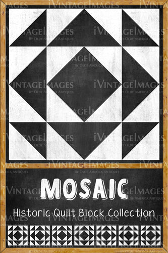 Mosaic Quilt Block Design by Susan Davis - 12