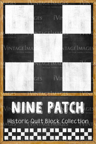 Nine Patch Quilt Block Design by Susan Davis - 13