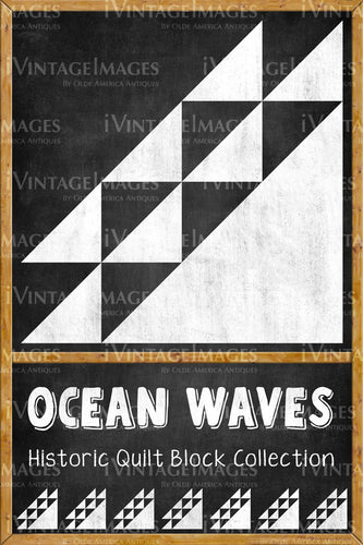 Ocean Waves Quilt Block Design by Susan Davis - 14
