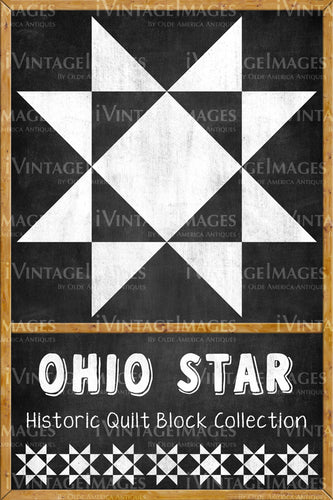 Ohio Star Quilt Block Design by Susan Davis - 15