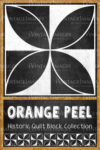 Orange Peel Quilt Block Design by Susan Davis - 16