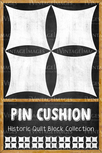 Pin Cushion Quilt Block Design by Susan Davis - 17