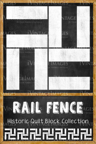 Rail Fence Quilt Block Design by Susan Davis - 19