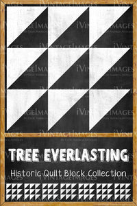 Tree Everlasting Quilt Block Design by Susan Davis - 21
