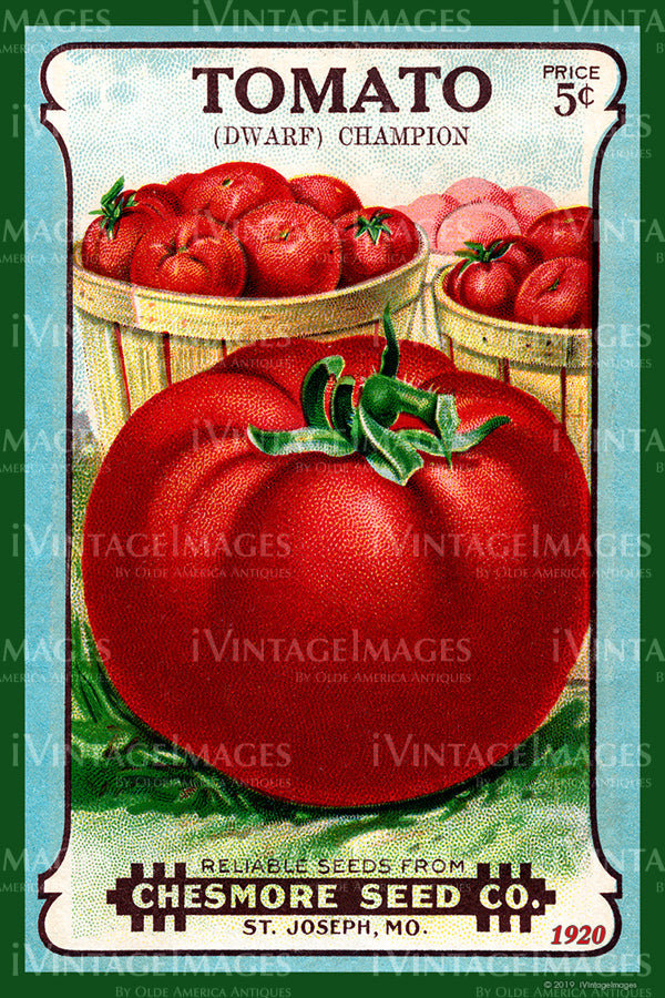 Tomato Seed Packet - 1920 - 055
