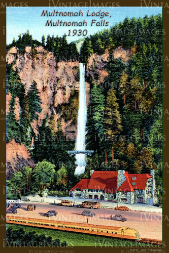 Columbia River Postcard 1930 - 01