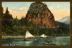 Columbia River Postcard 1910 - 03