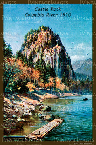 Columbia River Postcard 1910 - 04