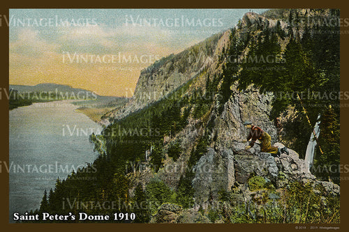 Columbia River Postcard 1910 - 05