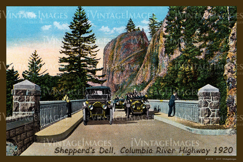 Columbia River Postcard 1920 - 06