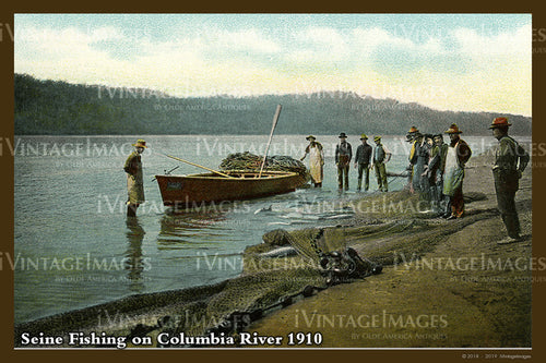 Columbia River Postcard 1910 - 07