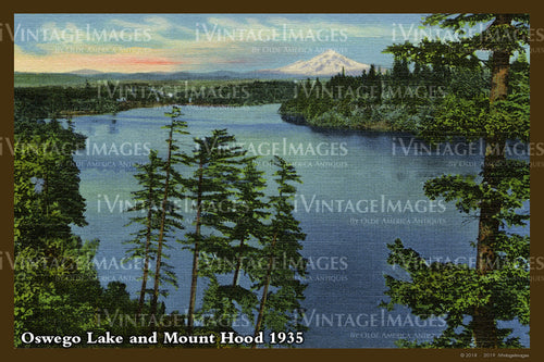 Columbia River Postcard 1935 - 12