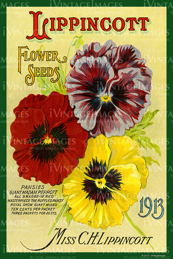 Lippincott Flower Seeds 1913 - 011
