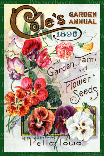 Coles Flower Seeds 1895 - 021