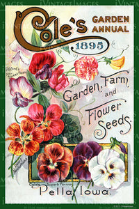 Coles Flower Seeds 1895 - 036