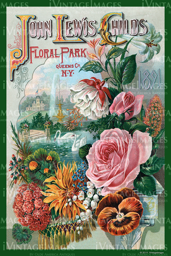 Childs Flower Seeds 1891 - 026