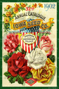 Iowa Flower Seeds 1902 - 027