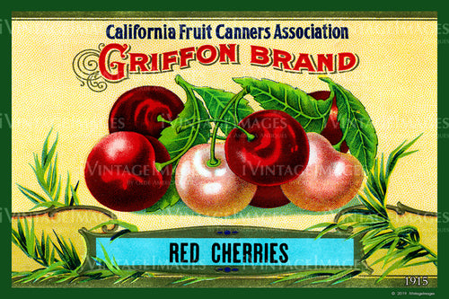 California Red Cherries 1915 - 023
