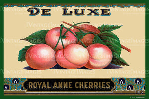 De Luxe Royal Anne Cherries 1915 - 025
