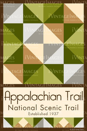 Appalachian Trail Quilt Block Design by Susan Davis - 2