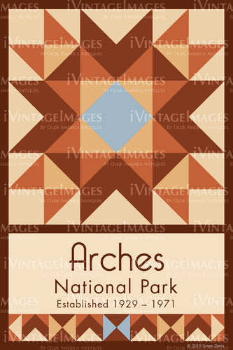 Arches Quilt Block Design by Susan Davis - 3