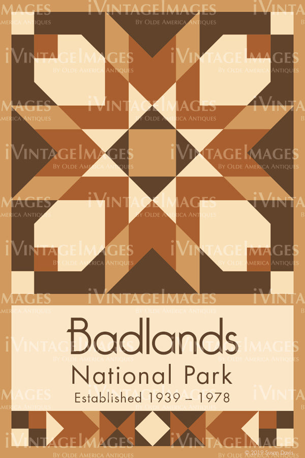Badlands Quilt Block Design by Susan Davis - 4