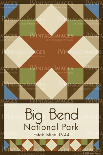 Big Bend Quilt Block Design by Susan Davis - 5