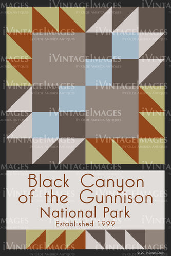 Black Canyon of the Gunnison Quilt Block Design by Susan Davis - 7