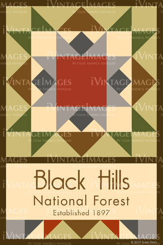 Black Hills Quilt Block Design by Susan Davis - 8
