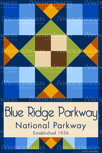 Blue Ridge Parkway Quilt Block Design by Susan Davis - 9