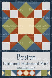 Boston NHP Quilt Block Design by Susan Davis - 10