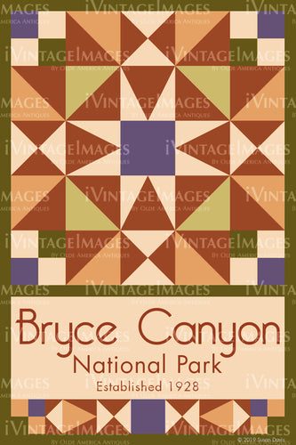 Bryce Canyon Quilt Block Design by Susan Davis - 11