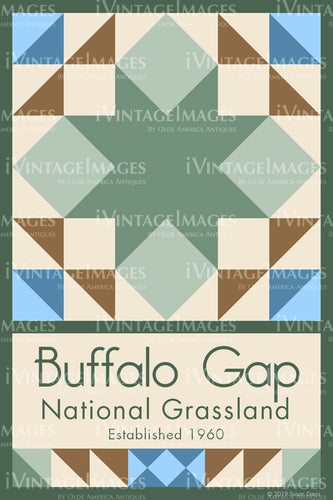 Buffalo Gap Quilt Block Design by Susan Davis - 12