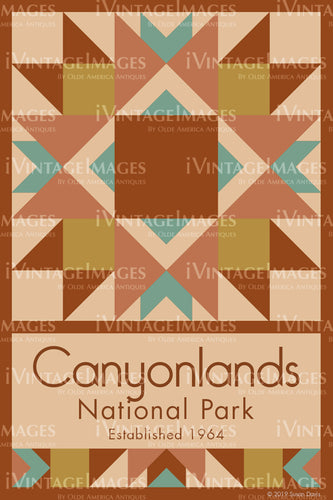 Canyonlands Quilt Block Design by Susan Davis - 14