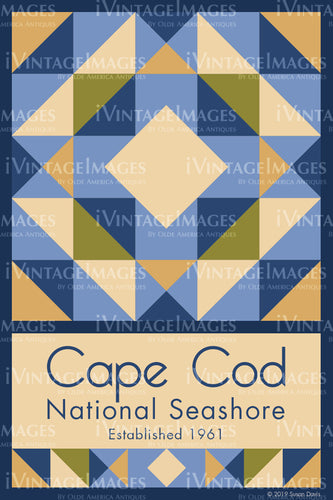 Cape Cod Quilt Block Design by Susan Davis - 15