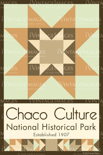 Chaco Culture Quilt Block Design by Susan Davis - 18