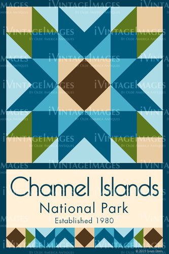 Channel Islands Quilt Block Design by Susan Davis - 19
