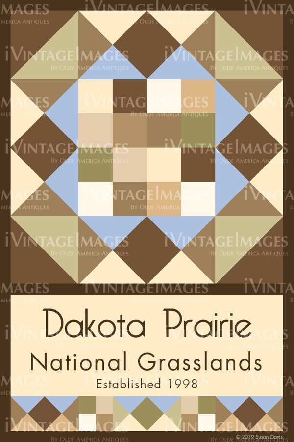 Dakota Prairie Quilt Block Design by Susan Davis - 26