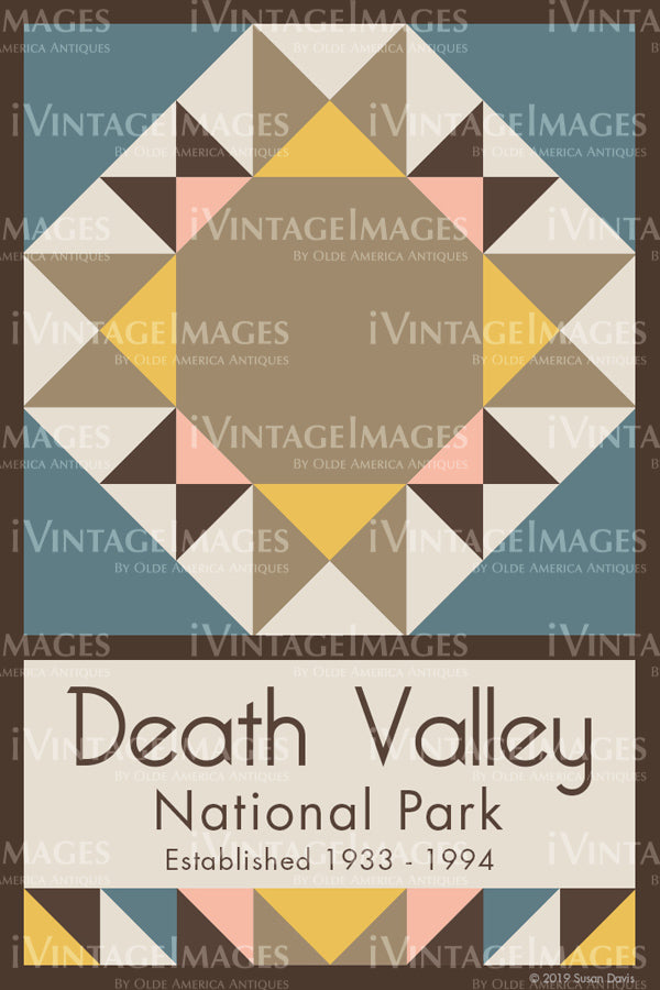 Death Valley Quilt Block Design by Susan Davis - 27