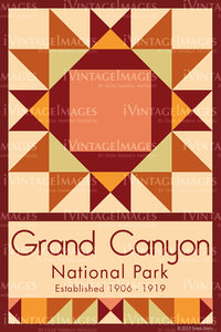 Grand Canyon Quilt Block Design by Susan Davis - 37