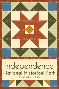 Independence Quilt Block Design by Susan Davis - 46