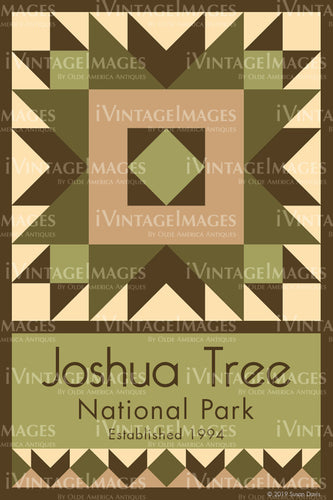 Joshua Tree Quilt Block Design by Susan Davis - 49