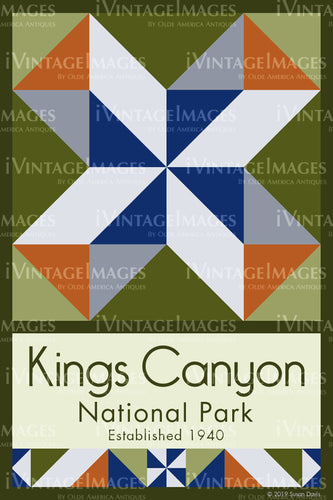 Kings Canyon Quilt Block Design by Susan Davis - 51
