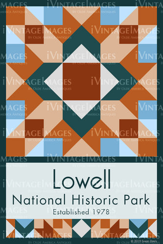 Lowell Quilt Block Design by Susan Davis - 53