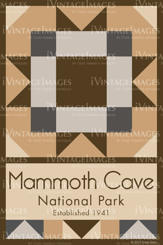 Mammoth Cave Quilt Block Design by Susan Davis - 53