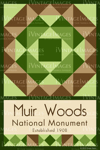 Muir Woods Quilt Block Design by Susan Davis - 61