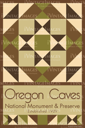 Oregon Caves Quilt Block Design by Susan Davis - 68