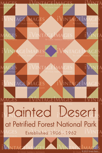 Painted Desert Quilt Block Design by Susan Davis - 70