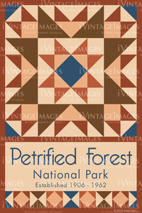 Petrified Forest Quilt Block Design by Susan Davis - 71